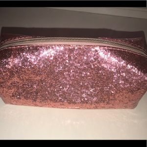 Pink Holo Makeup Pouch